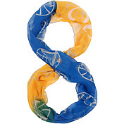 Forever Collectibles Golden State Warriors Gradient Infinity Scarf