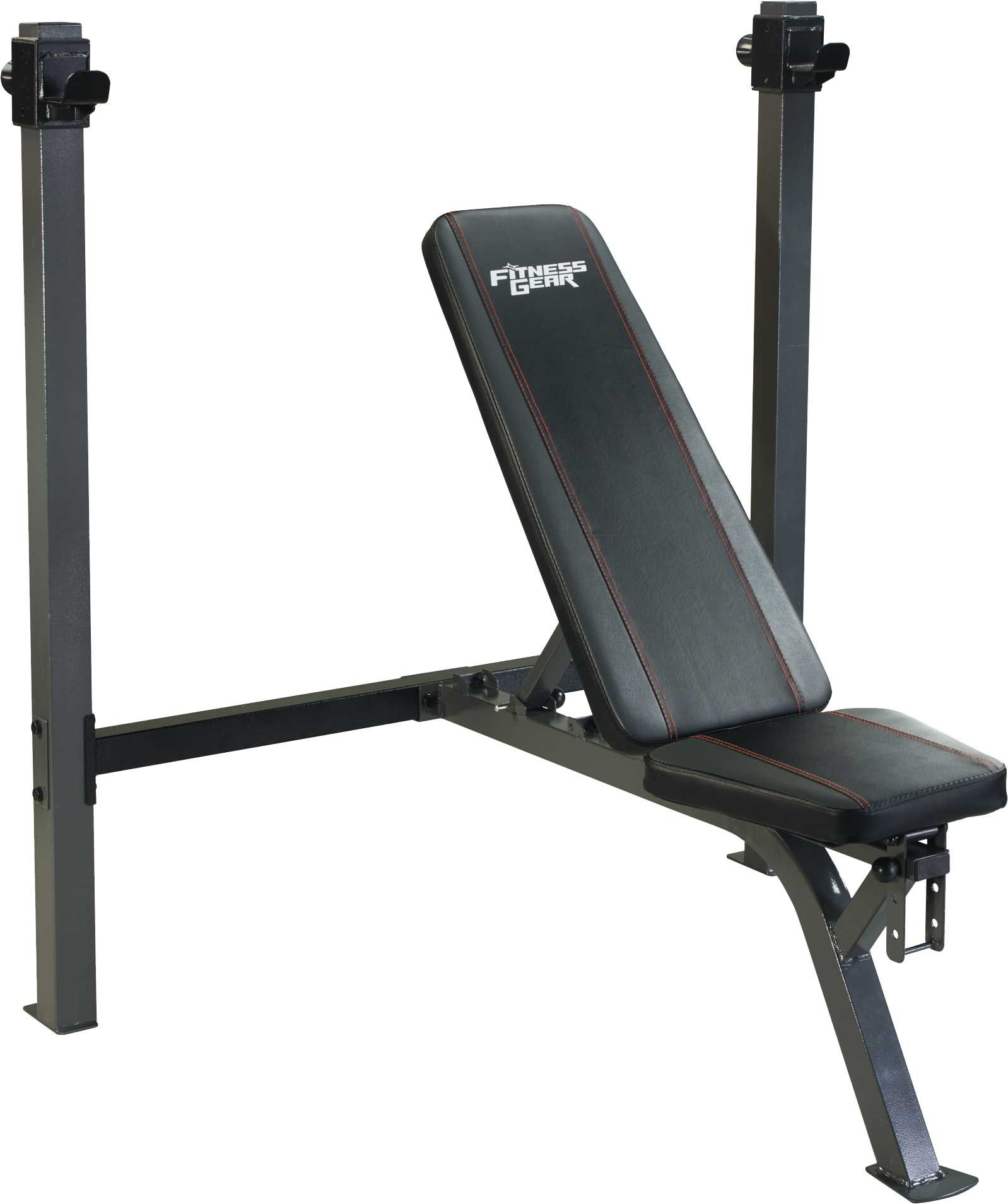 weight bench set gym workout weights itm fitness olympic and adjustable w lifting rack