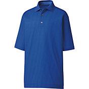 FootJoy Men's Circle Print Lisle Knit Golf Polo