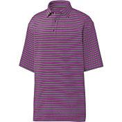 FootJoy Men's Lisle Multi-Stripe Golf Polo