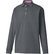 FootJoy Men's Long Sleeve Thermolite Pique Golf Polo