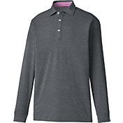 FootJoy Men's Long Sleeve Thermolite Pique Golf Polo