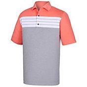 FootJoy Men's Stretch Lisle Color Block Golf Polo