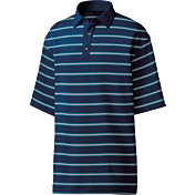 FootJoy Men's Stretch Lisle Open Stripe Golf Polo