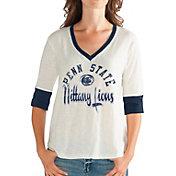 G-III For Her Women's Penn State Nittany Lions Sideline White T-Shirt