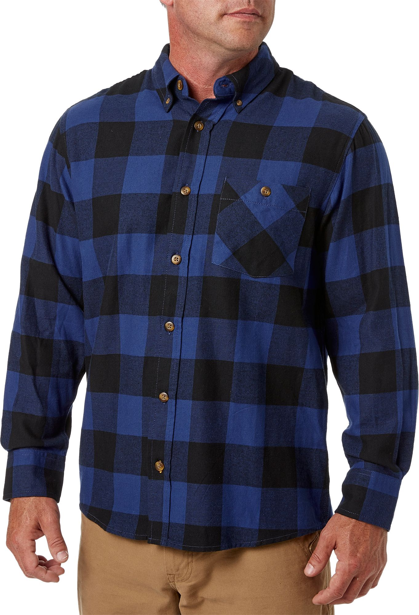 Field & Stream Men's Classic Lightweight Flannel Long Sleeve Shirt by Field & Stream