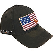 Field & Stream Men's Flag Patch Waxed Hat