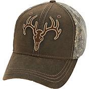 Field & Stream Men's Deer Skull Waxed Front Hat