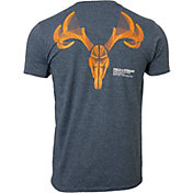 Field & Stream Men's Wired Antler Skull T-Shirt