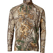 Field & Stream Men's Tech Quarter Zip Long Sleeve Shirt