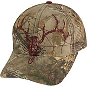 Field & Stream Ox Blood Mesh Back Camo Hat