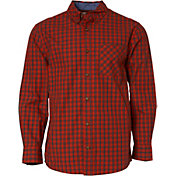 Field & Stream Men's Plaid Woven Button Down Long Sleeve Shirt