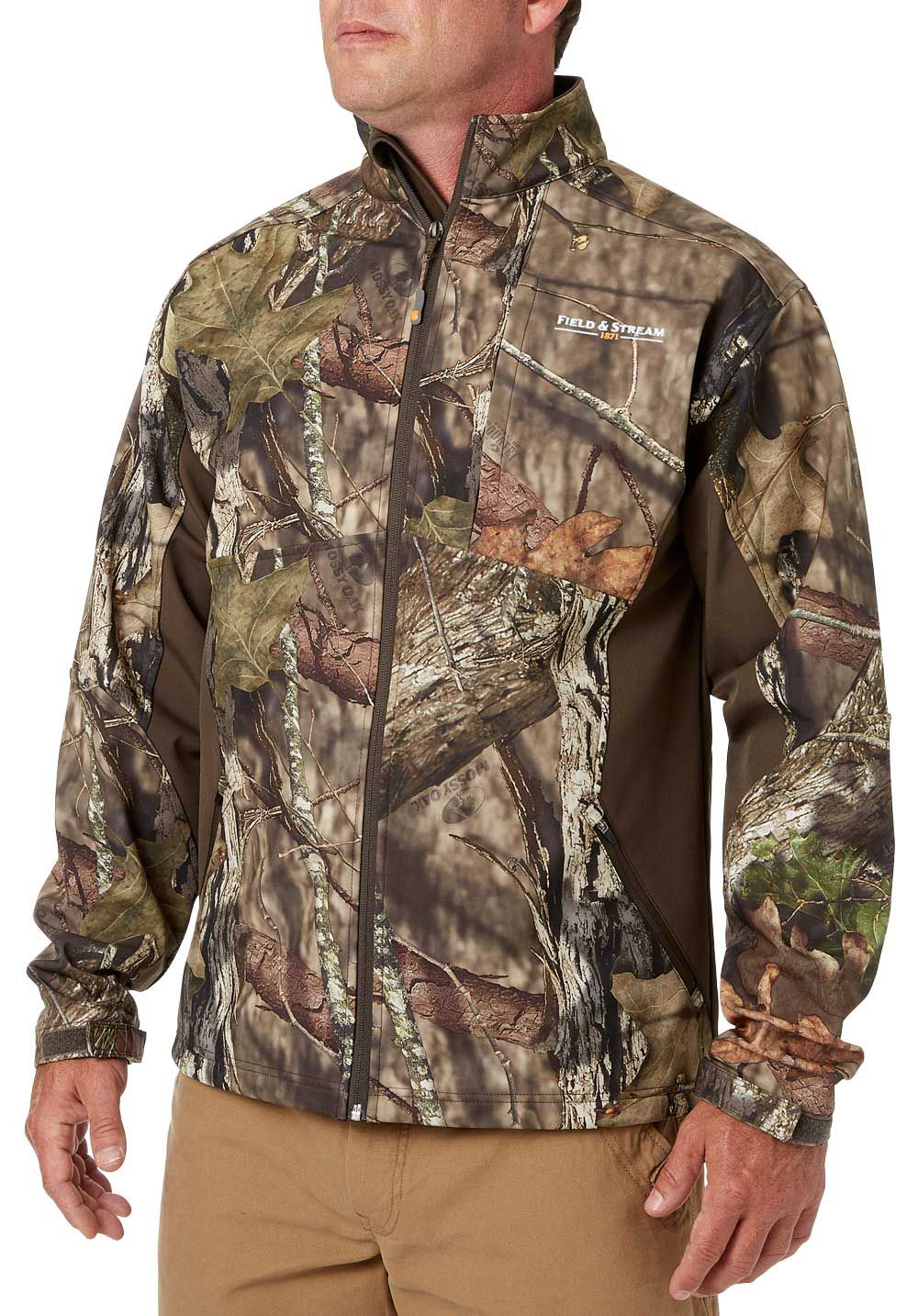 Field & Stream Men's Soft-Shell Hunting Jacket, Size: 3XL, Mossy Oak Brk-Up Country thumbnail
