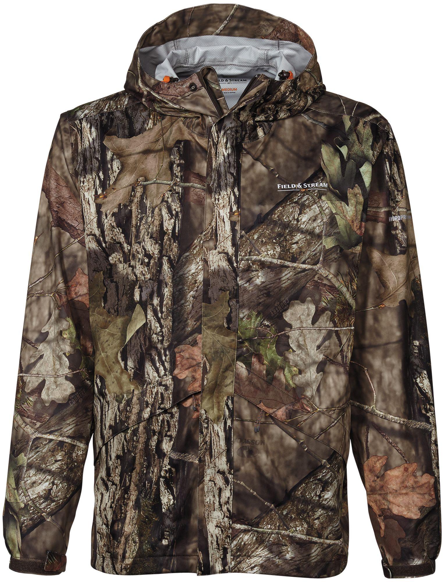 Field & Stream Lightweight Packable Rain Hunting Jacket, Men's, Size: Medium, Mossy Oak Brk-Up Country thumbnail