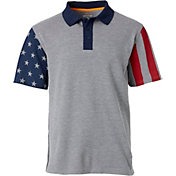 Field & Stream Men's Stars & Stripes Polo