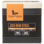Field & Stream .223 Remington Steel  FMJ Rifle Ammo – 55 Grain