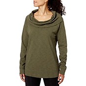 Field & Stream Women's French Terry Cowl Neck Pullover