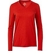 Field & Stream Women's Jersey V-Neck Long Sleeve Shirt