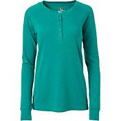 Field & Stream Women's Waffle Henley Long Sleeve Shirt