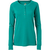 Field & Stream Women's Waffle Henley Long Sleeve Shirt