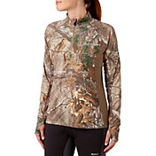 Field & Stream Women's Quarter Zip Tech Tee