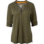 Field & Stream Women's Y-Neck Long Sleeve Shirt