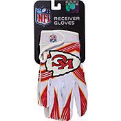 Franklin Kansas City Chiefs Team Logo Receiver Gloves