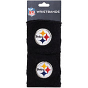 Franklin Pittsburgh Steelers Embroidered Wristbands
