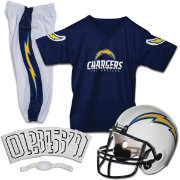 Franklin Los Angeles Chargers Deluxe Uniform Set