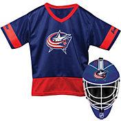 Franklin Columbus Blue Jackets Kids' Goalie Costume Set