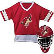 Franklin Arizona Coyotes Goalie Uniform Costume Set