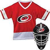 Franklin Carolina Hurricanes Goalie Uniform Costume Set