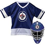 Franklin Winnipeg Jets Goalie Uniform Costume Set
