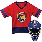Franklin Florida Panthers Goalie Uniform Costume Set