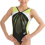 GK Elite Women's Black Pearl Gymnastics Leotard