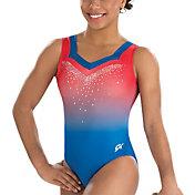 GK Elite Women's Lady Liberty Gymnastics Tank Leotard