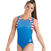 GK Elite Women's Aly Raisman Fierce Pride Gymnastics Leotard