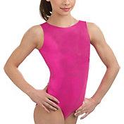 GK Elite Women's Scoop Back Mystique Gymnastics Tank Leotard