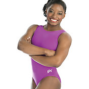 GK Elite Women's Scoop Back Gymnastics Tank Leotard