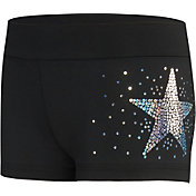 GK Elite Women's Sequinz Star Shorts
