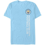 Fifth Sun Men's Manchester City Wordmark Light Blue T-Shirt