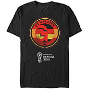 Fifth Sun Men's FIFA 2018 World Cup Russia Germany Contrast Round Black T-Shirt