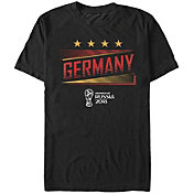Fifth Sun Men's FIFA 2018 World Cup Russia Germany Slanted Black T-Shirt