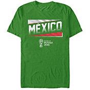 Fifth Sun Men's FIFA 2018 World Cup Russia Mexico Slanted Green T-Shirt
