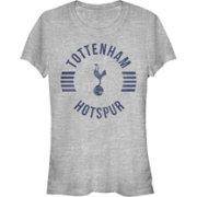 Fifth Sun Women's Tottenham Hotspur Spur Sphere Athletic Heather Crew T-Shirt
