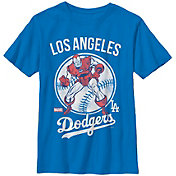 Fifth Sun Youth Los Angeles Dodgers Marvel Comics 'Ironman' Royal T-Shirt