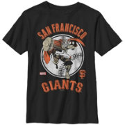 Fifth Sun Youth San Francisco Giants Marvel Comics 'Thor' Black T-Shirt
