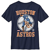 Fifth Sun Youth Houston Astros Marvel Comics 'Captain America' Navy T-Shirt