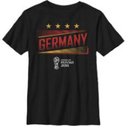 Fifth Sun Youth FIFA 2018 World Cup Russia Germany Slanted Black T-Shirt