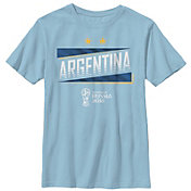 Fifth Sun Youth FIFA 2018 World Cup Russia Argentina Slanted Light Blue T-Shirt